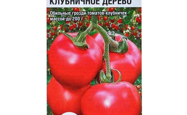 Сорт томатов «Клубничное дерево» — сибирская устойчивость к болезням и высокая урожайность