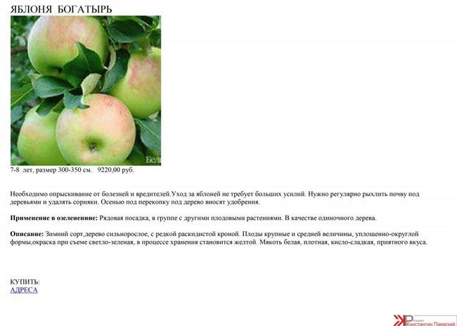 Урожайность и дегустационная оценка