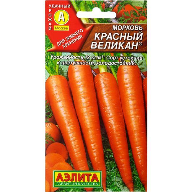 Отзывы о сорте моркови Красный великан