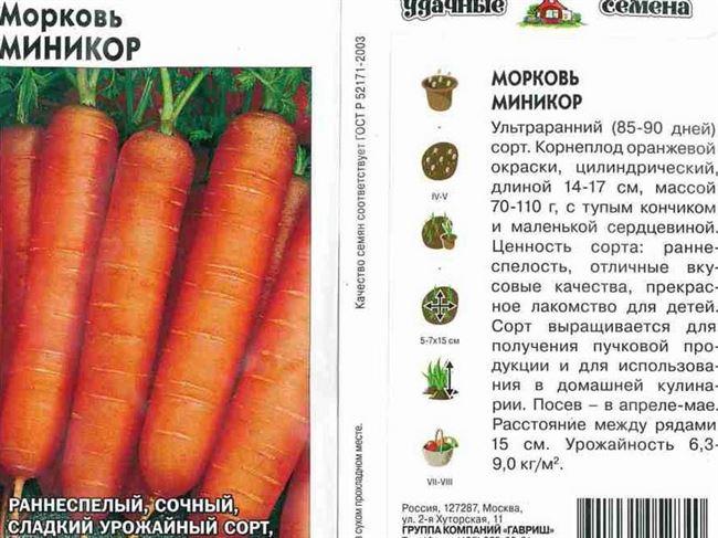 Сорта моркови, способные зимовать в грунте