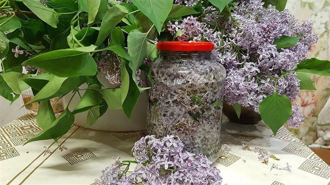 Измельчение цветков